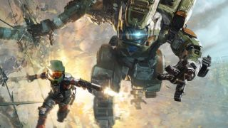 Titanfall wallrunning but the pilot is master chief.