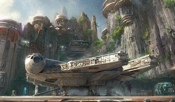 Concept art of Star Wars: Galaxy's Edge