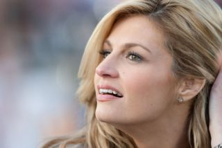 Erin Andrews at the 2011 Rose Bowl game in Pasedena, CA.
