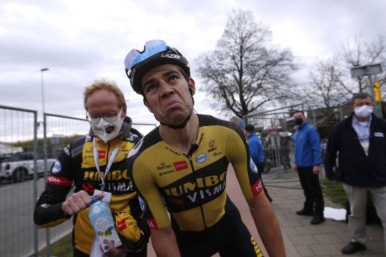 Wout van Aert at the 2021 Amstel Gold Race