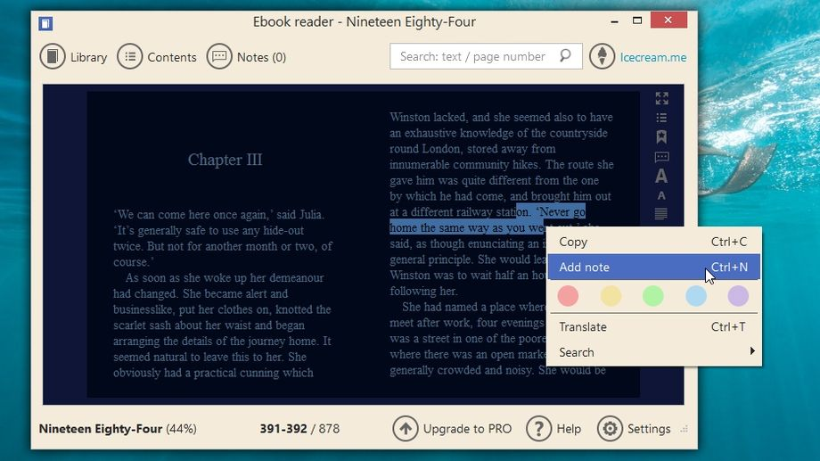 Icecream ebook reader review and where to download techradar fandeluxe Gallery