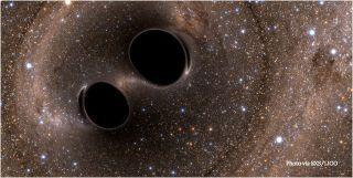 gravitational waves black holes