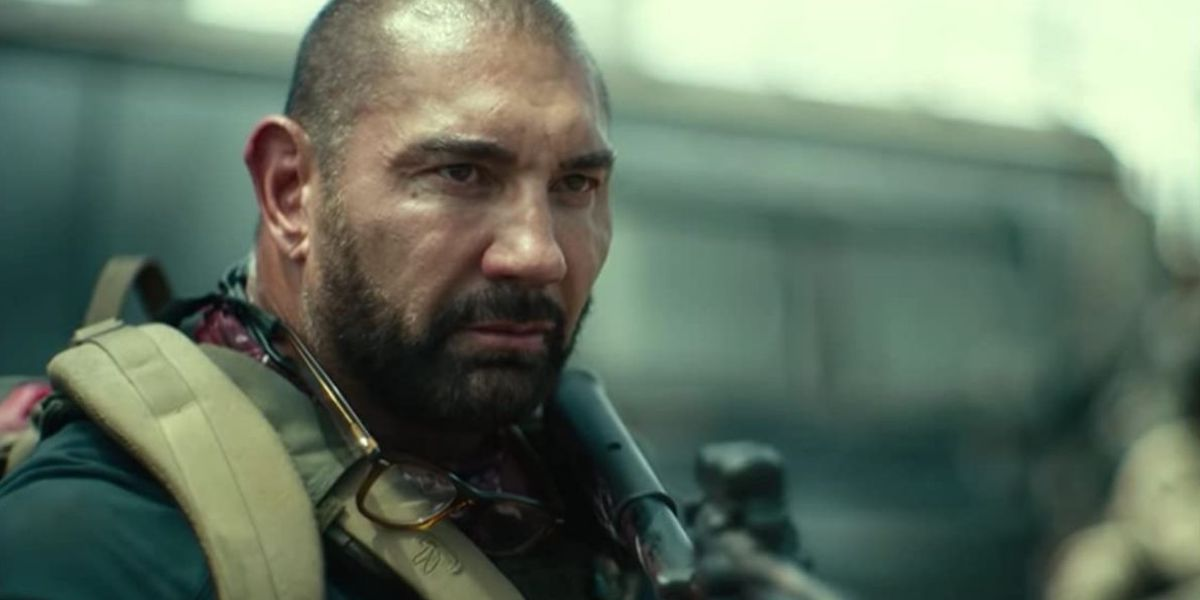 Dave Bautista suited up for Army of the Dead