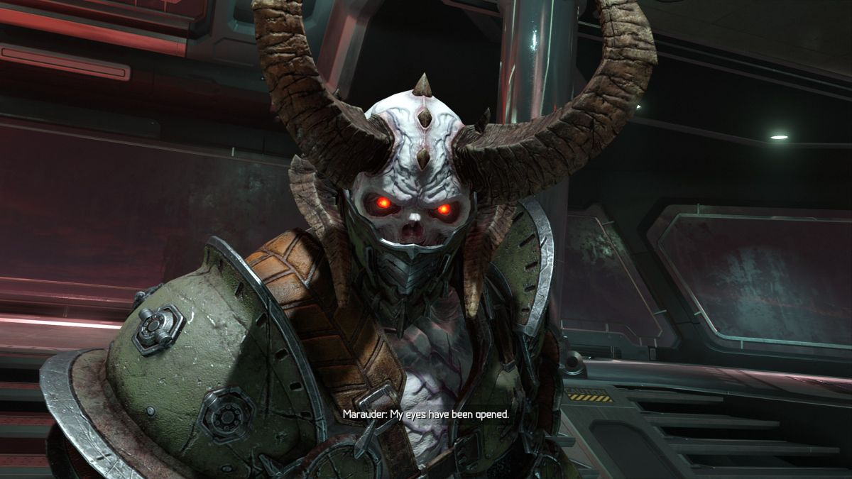 How To Kill Doom Eternal S Marauder Boss Pc Gamer