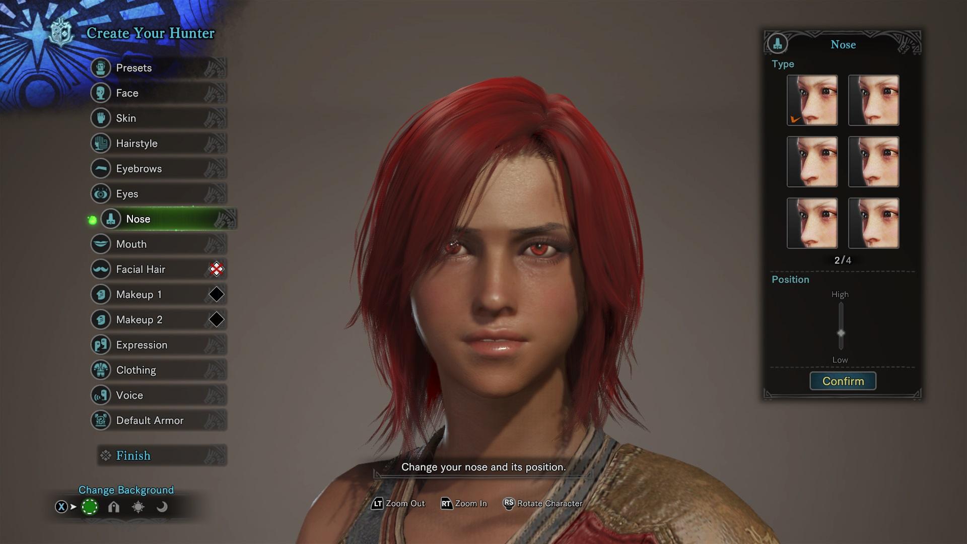 Monster Hunter World character customization is irking some
