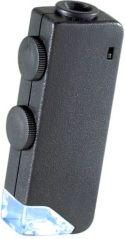 Pocket scope magnifies 60x -100x