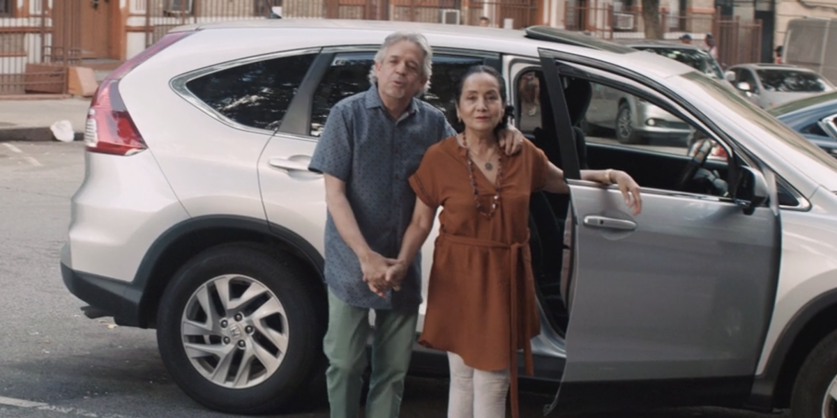 Lin Manuel's parents in In the Heights