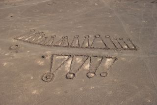 Aerial photographs and ground inspection of the keyhole pendants in Saudi Arabia reveal more details of the enigmatic structures.