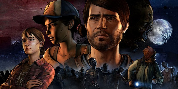 Various characters from telltale's The Walking Dead