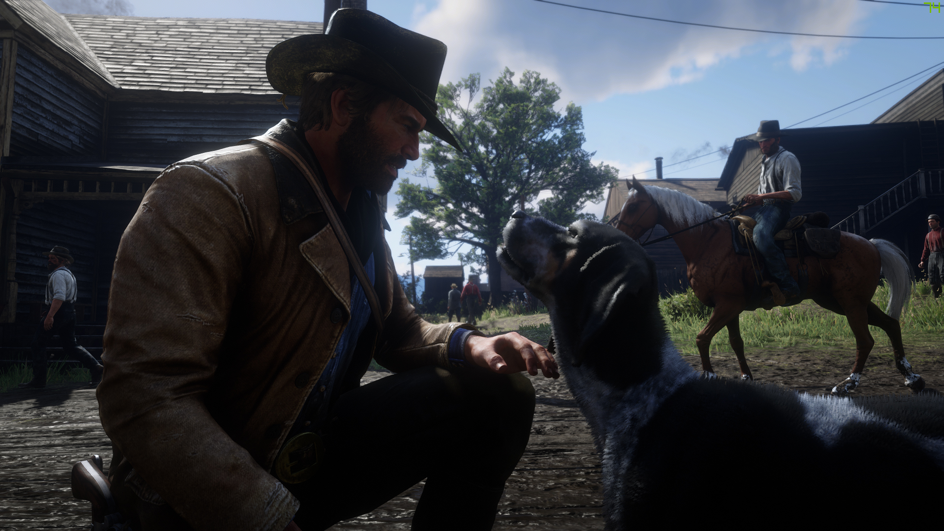 When everyone is having tech problems with RDR2 but it's running great for you | PC Gamer