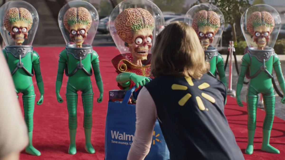 Walmart's Super Bowl 2020 commercial recruits Martians, 'Star Trek,' Lego and sci-fi icons