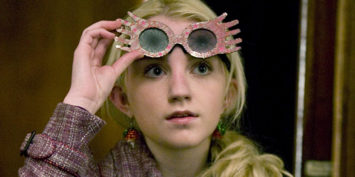 Luna Lovegood in Harry Potter and the Half-Blood Prince.