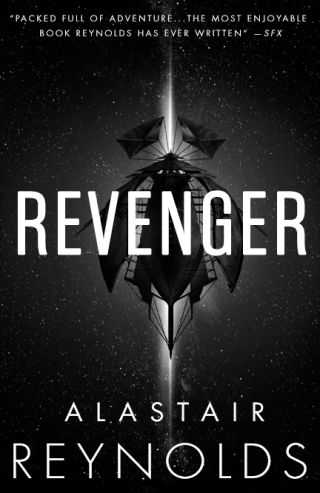 Revenger book cover