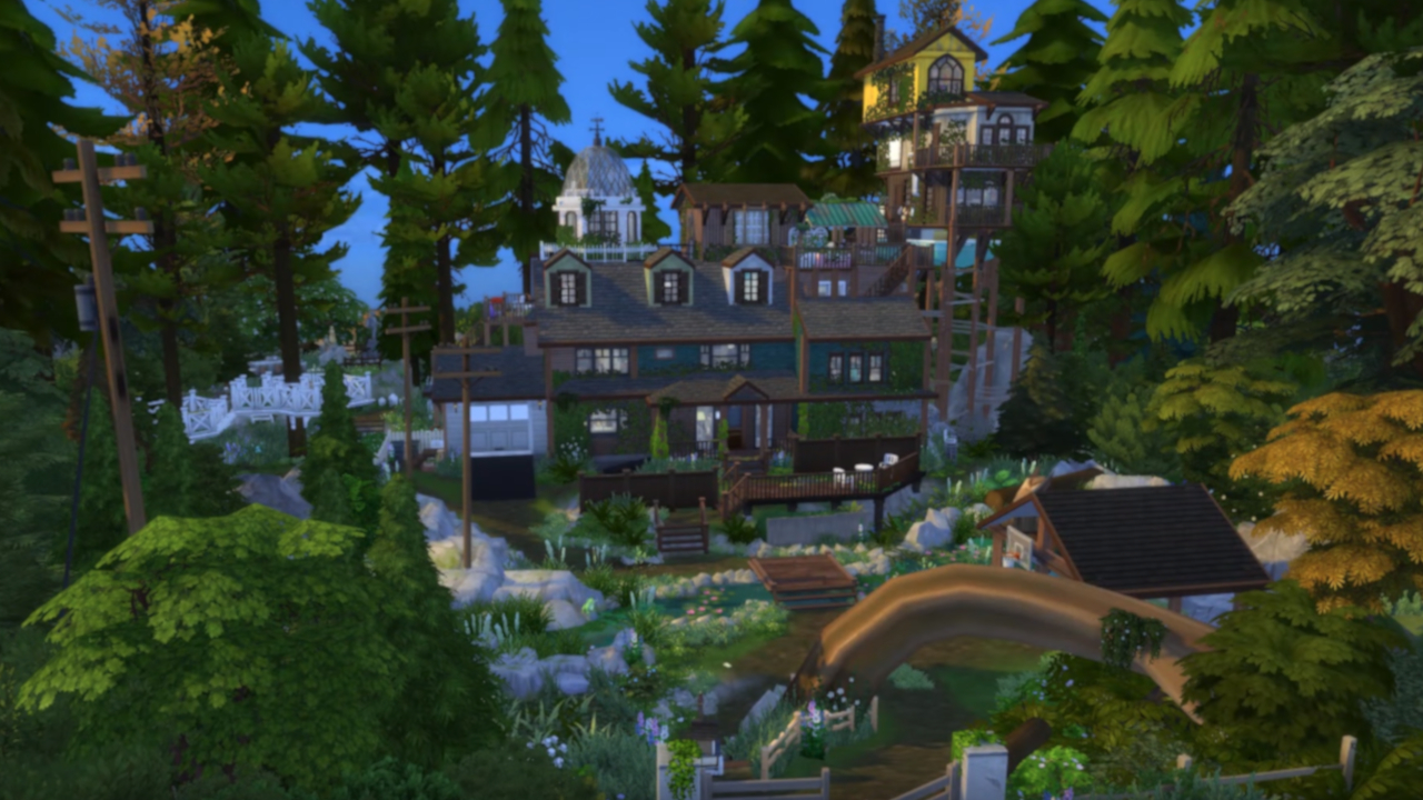Stupendous Someone Made The House From What Remains Of Edith Finch In Home Remodeling Inspirations Genioncuboardxyz