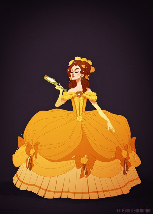 See Disney Princesses In Historically Accurate, Awesome ...