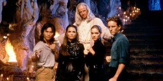 The cast of the 1995 Mortal Kombat movie