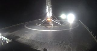 Falcon 9 Lands Again