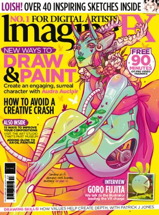 ImagineFX 171 cover