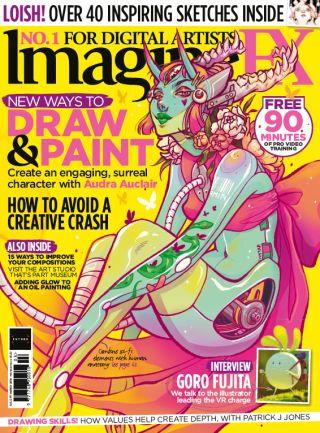 ImagineFX 171 cover
