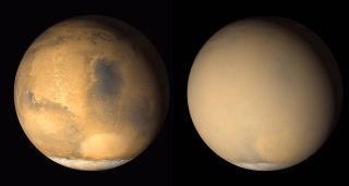 Mars images by Mars Global Surveyor