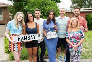 Where is Erinsborough in Australia? Some of the Neighbours cast on Ramsay Street