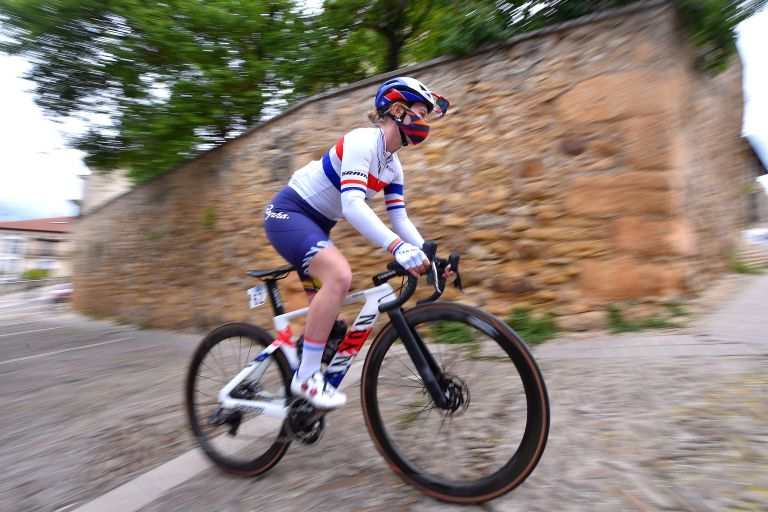 Alice Barnes is the British women's national road and time trial champion