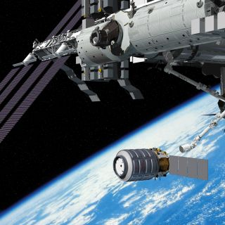 Artist's Rendering of Cygnus Spacecraft