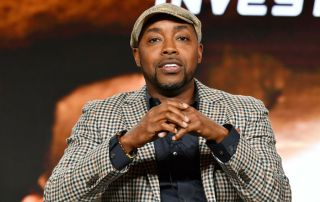 """Executive producer Will Packer of """"Rob Riggle: Global Investigation"""" speaks during the Discovery Channel segment of the 2020 Winter TCA Press Tour"""
