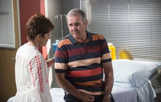 Karl Kennedy gets a life-threatening shock - will he and Susan make it through the crisis?