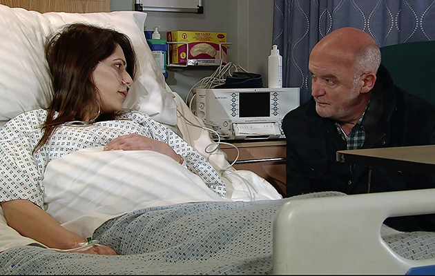 Coronation Street's Nicola Thorp: 'Nicola should be very afraid of Phelan!'