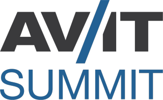 Image result for av it summit logo