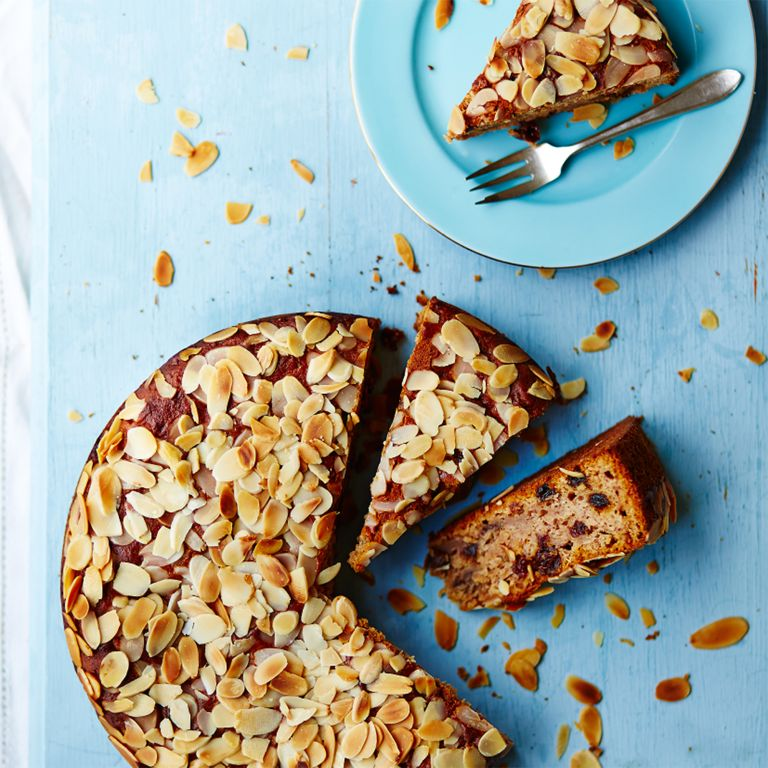 June Brown Banana Honey Almond cake