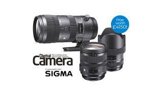 Win Sigma's Pro Trio of f/2.8 lenses in Digital Camera's exclusive competition
