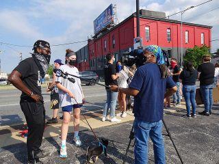 WPVI Action News protest coverage