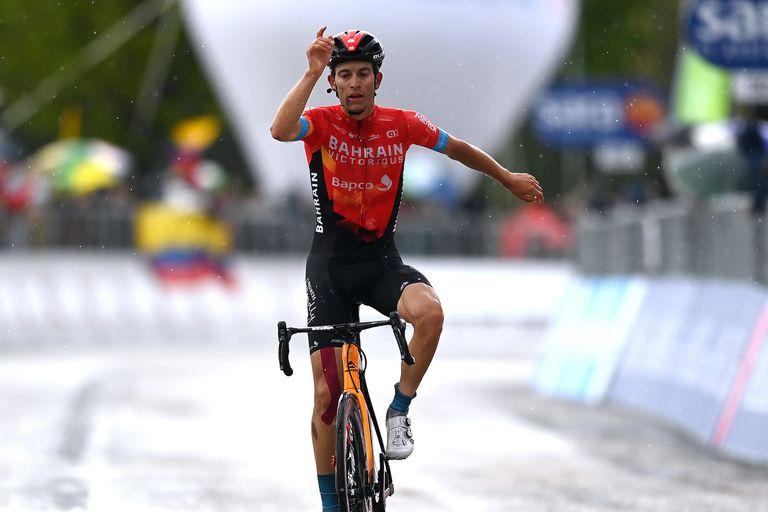 Gino Mader, Giro d'Italia 2021 stage six
