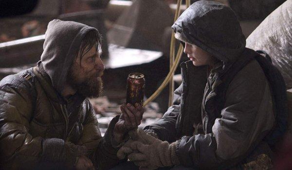 The Road Viggo Mortensen Kodi Smit-McPhee sharing a coke after the apocalypse