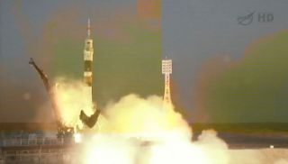 Expedition 34 Soyuz Launch