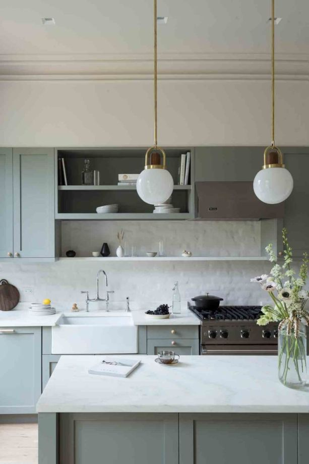 20 Seriously Striking Chic And Contemporary Grey Kitchen Ideas