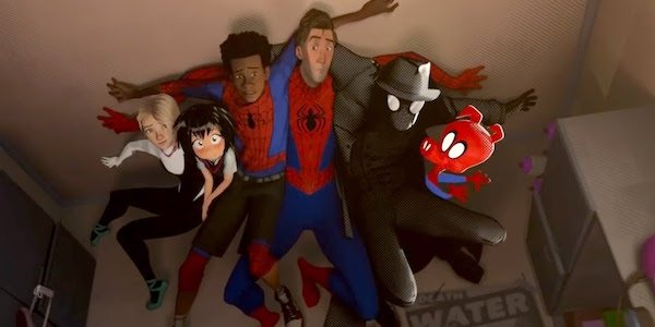 The cast of Into the Spider-Verse 2