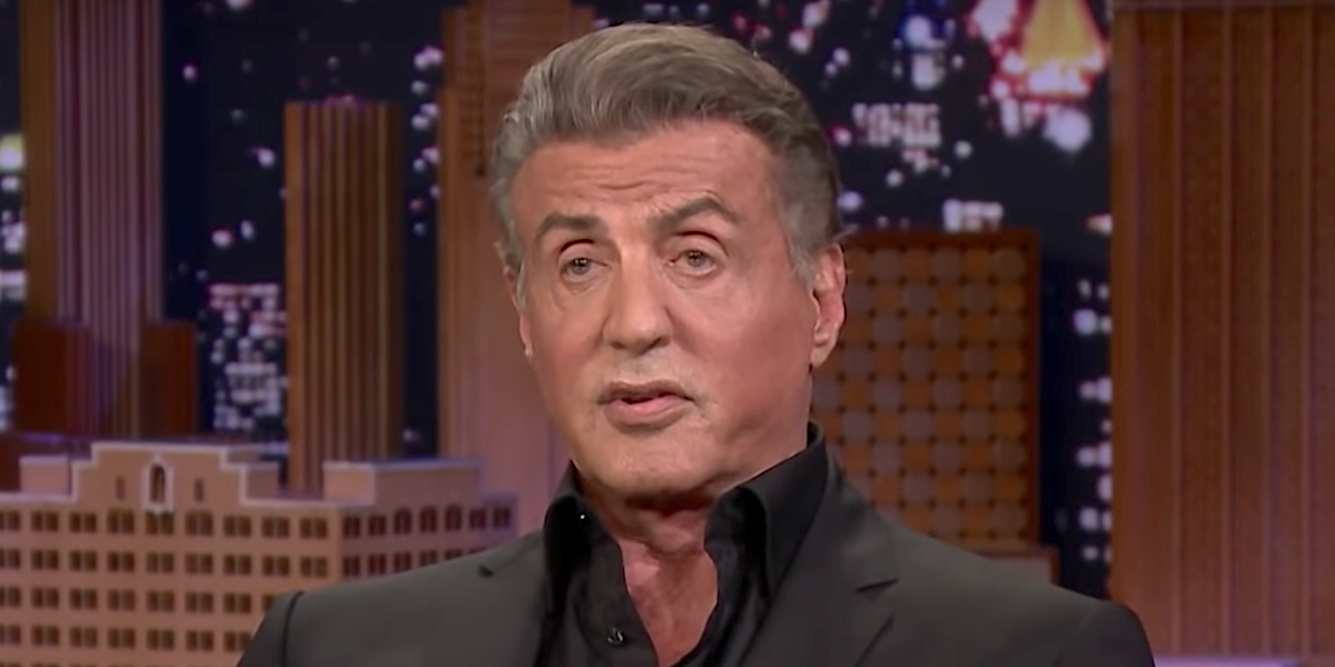 sylvester stallone on tonight show