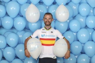 Spanish champion Alejandro Valverde (Movistar)