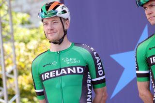 Sam Bennett returned to racing at the European Championships in Trento