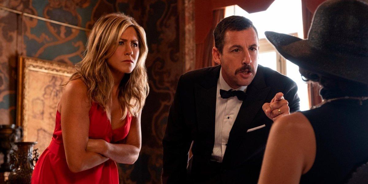 Jennifer Aniston and Adam Sandler in Murder Myster