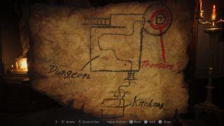 Resident Evil Village Treasure Map