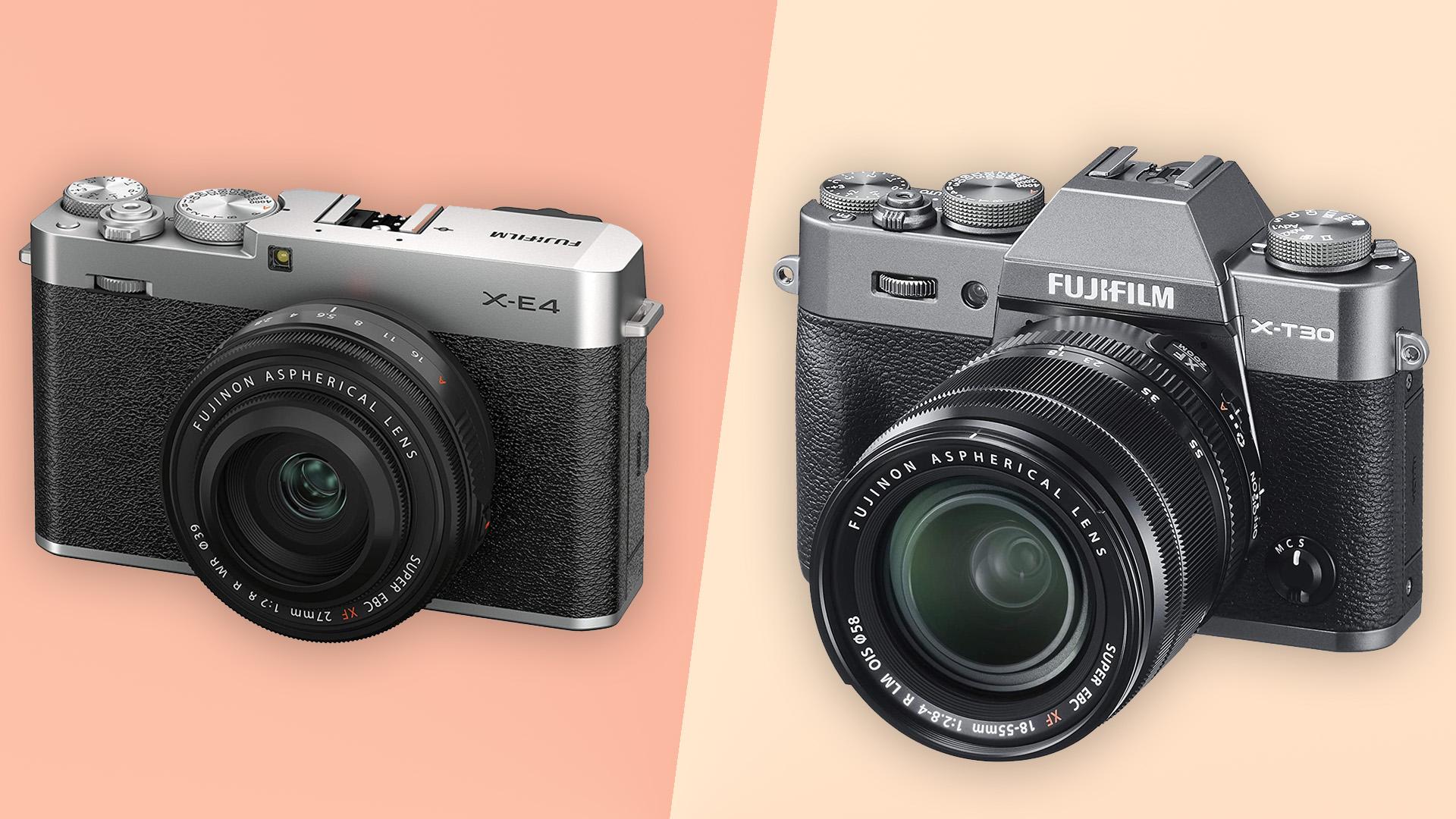 Fujifilm X-E4 vs Fujifilm X-T30