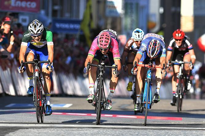 Luka Pibernik (Lampre-Merida) wins stage 6 Eneco Tour