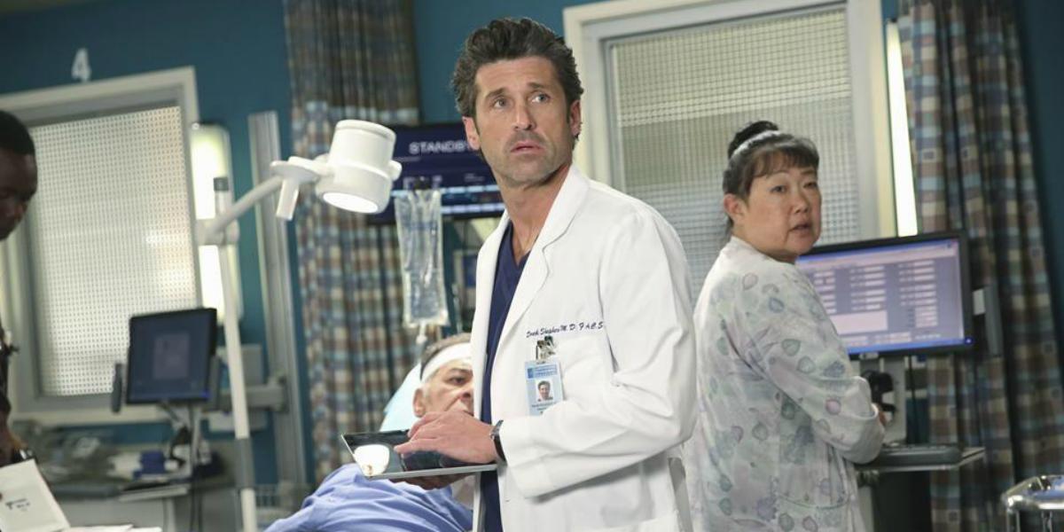 Grey's Anatomy Patrick Dempsey Derek McDreamy Shepherd ABC