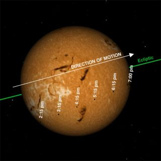 Viewer's Guide: Watch Mercury Cross the Sun