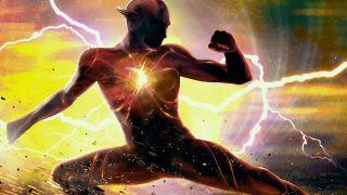 The Flash promo artwork of new costume