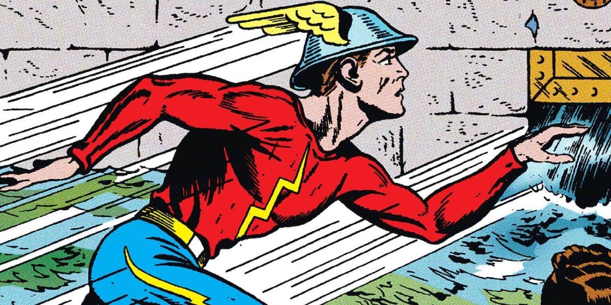 Jay Garrick as The Flash